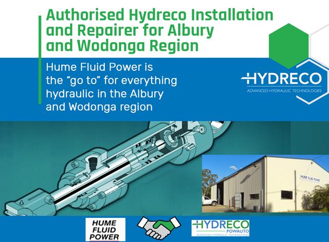 Authorised Hydreco Installer - Albury, New South Wales, Australia