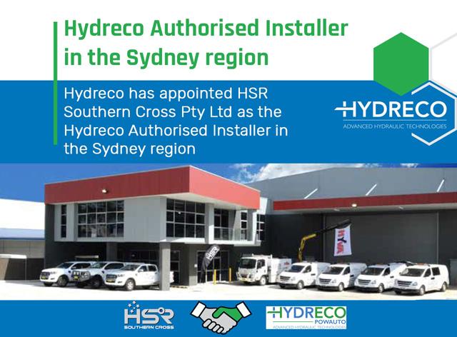 Hydreco Authorised Installer - Sydney