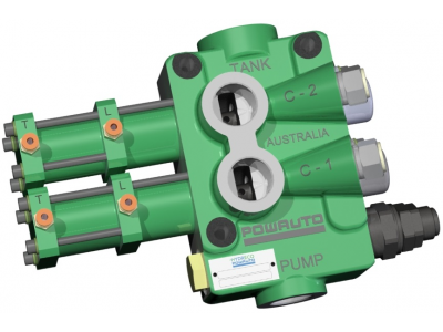 The VA210 valves provide another option for truck and trailer applications where dual tipping or compact size is required, in conjunction with high flow rates.